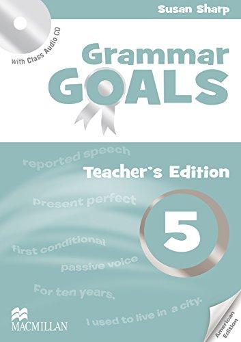 American Grammar Goals: Level 5: Teacher s Book Pack (Paperback): Sue Sharp