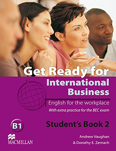 9780230447905: Get Ready for International Business Student's Book with BEC