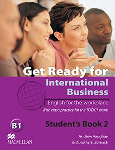 9780230447912: Get Ready for International Business - Student's Book 2 withTOEIC - B1