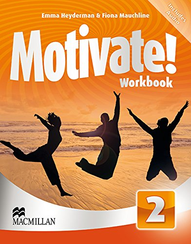 9780230451438: Motivate Workbook Pack Level 2 - Includes CD-ROM