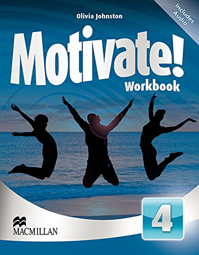 9780230451612: Motivate Workbook Pack Level 4 - Includes CD-ROM