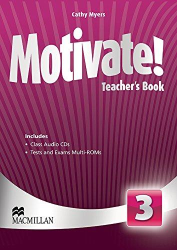 9780230452718: Motivate! Teacher's Book Pack Level 3