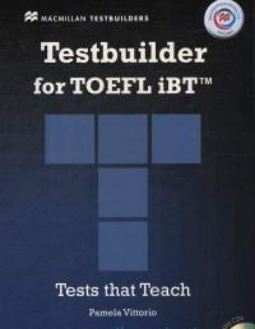 9780230452787: Testbuilder for TOEFL IBT + MPO Pack