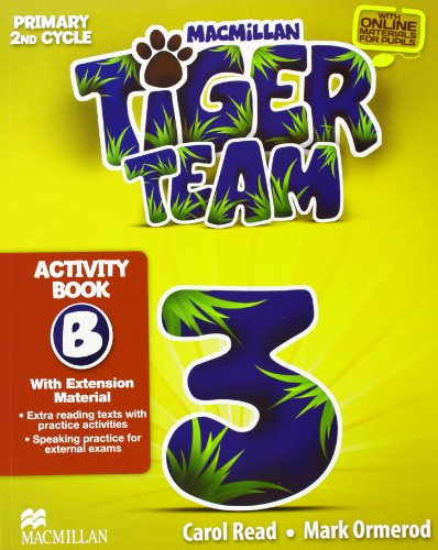 9780230453616: TIGER 3 ACTIVITY BOOK B PACK