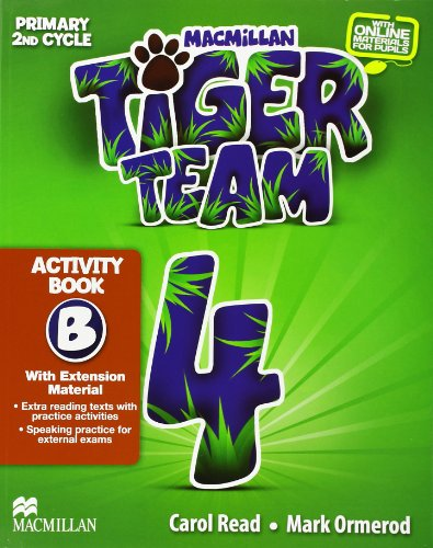 9780230453623: TIGER 4 ACTIVITY (B) PACK 2013