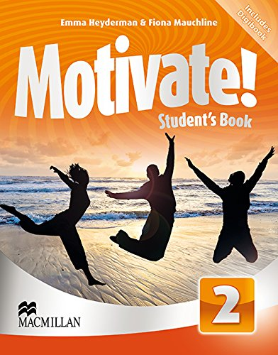 9780230453807: Motivate Student Book Pack Level 2 - Includes Digibook