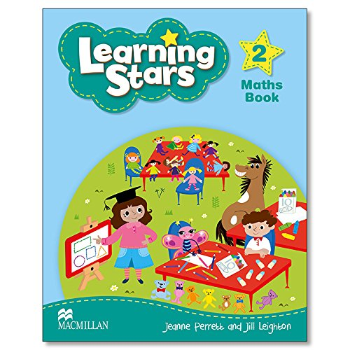 Learning Stars: Maths Book Level 2 (Paperback): Jill Leighton