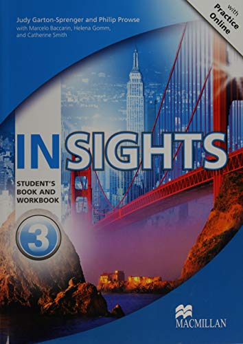 9780230455962: Insights Student's Book and Workbook with MPO Pack Level 3