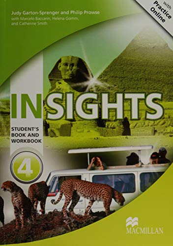 9780230455979: Insights Student's Book and Workbook with MPO Pack Level 4