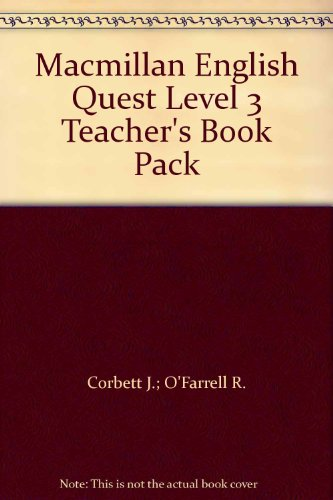 9780230456679: Macmillan English Quest Level 3 Teacher's Book Pack