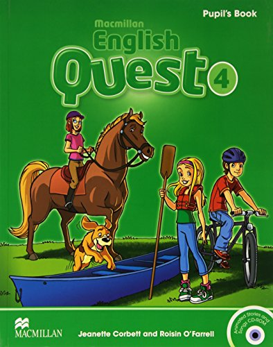 9780230456730: Macmillan English Quest Level 4 Pupil's Book Pack