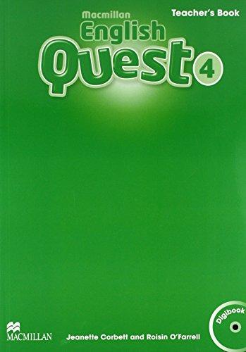 9780230456761: Macmillan English Quest Level 4 Teacher's Book Pack