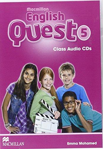 9780230456860: Macmillan English Quest Level 5 Class CDx3