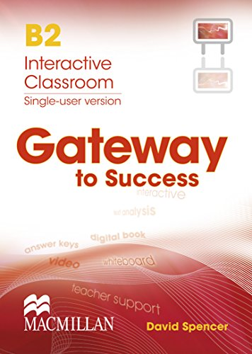 GATEWAY TO SUCCESS B2 IDB: Spencer D