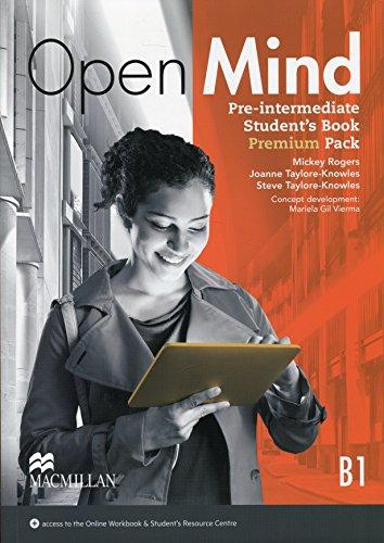 OPEN MIND Pre-Int Sb Premium Pk (Openmind: Mickey Rogers; Steve