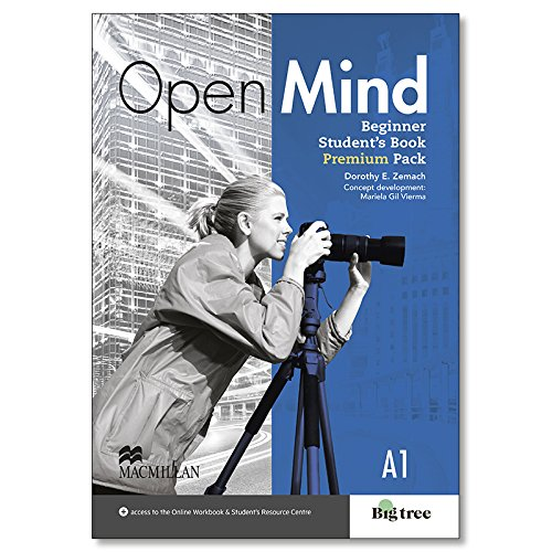 9780230458154: Open Mind Beginner Students book Premium Pack with webcode