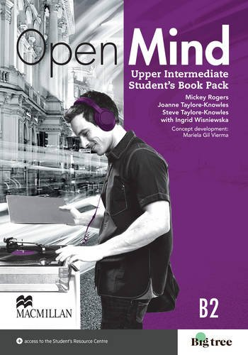 9780230458253: Open Mind Upper Intermediate Student's Book with Video-DVD & Webcode