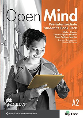9780230458291: Open Mind Pre-Intermediate - Level 2 - Students Book Pack (British Edition)