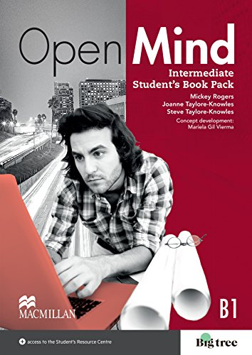 9780230458307: Open Mind British edition Intermediate Level Student's Book Pack
