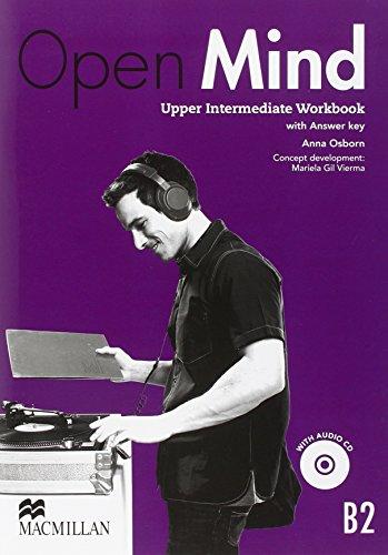 9780230458406: Open Mind British Edition Upper Intermediate Level Workbook with Key & CD Pack