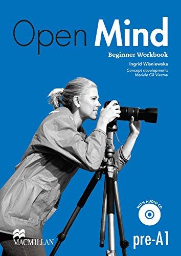 9780230458420: Open Mind British Edition Beginner Workbook without Key & CD