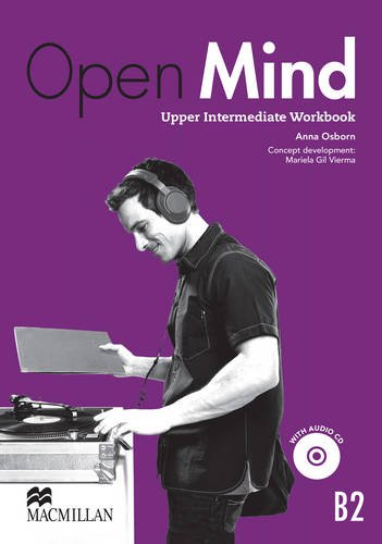 9780230458468: Open Mind British Edition Upper Intermediate Level Workbook Without Key & CD Pack