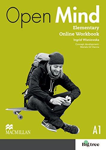 9780230458734: Open Mind British Edition Elementary Level Online Workbook