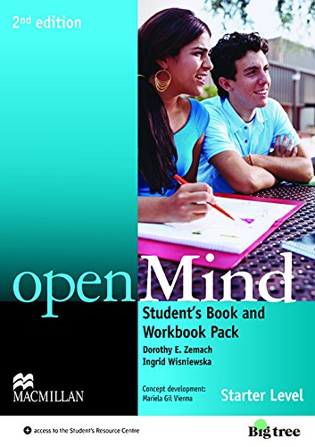 9780230458895: OpenMind (American) (2ed) Starter Student's Book & DVD