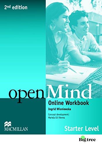 9780230458994: Open Mind 2nd Edition AE Starter Online Workbook