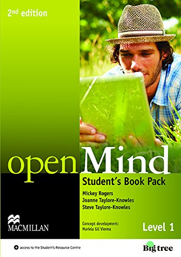 9780230459083: OpenMind (American English) (2nd Edition) 1 Student's Book w
