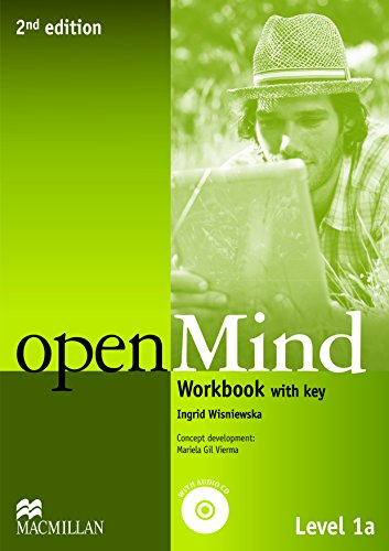 9780230459182: openMind 2nd Edition AE Level 1A Workbook Pack with key (Openmind American Edition)