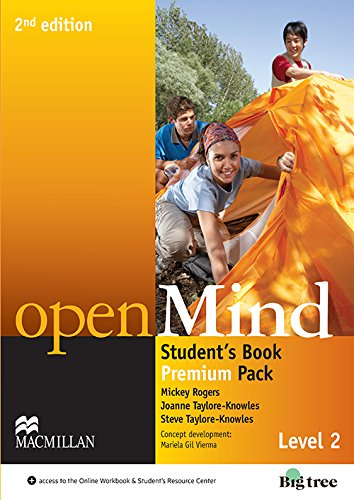 9780230459373: Open Mind 2nd Edition AE Level 2 Student's Book Pack Premium (Openmind American Edition)