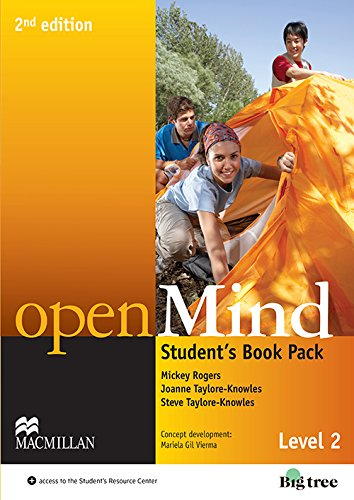 9780230459397: Open Mind - Level 2 - Students Book Pack
