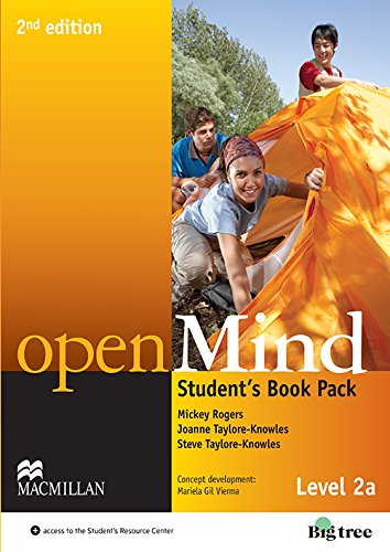 9780230459434: Open Mind 2nd Edition AE Level 2A Student's Book Pack (Openmind American Edition)