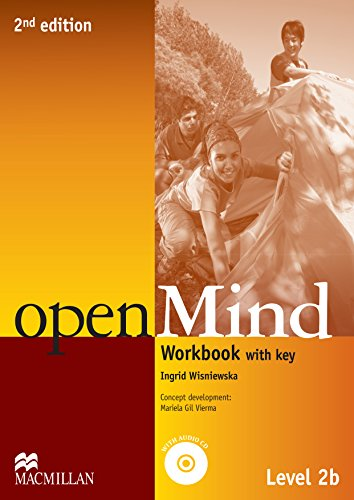 9780230459526: OpenMind (American English) (2nd Edition) 2 2B Workbook with (Openmind American Edition)