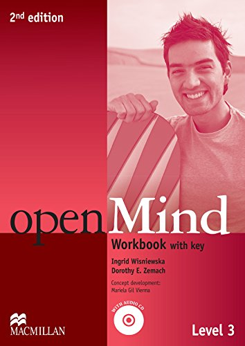 9780230459854: Open Mind 2nd Edition AE Level 3 Workbook with Key & CD Pack (Openmind American Edition)