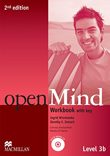 9780230459878: Open Mind 2nd Edition AE Level 3B Workbook with Key & CD Pack