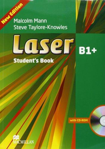 9780230460621: Laser. B1+. Student's book-Workbook. Per le Scuole superiori. Con espansione online
