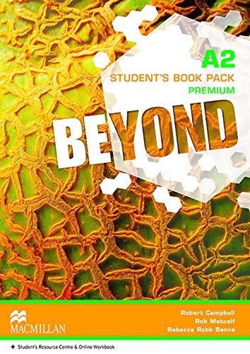 9780230461130: Beyond A2+ Student Book pack Premium