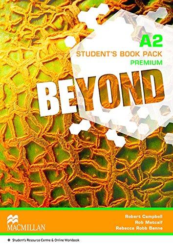 9780230461130: Beyond A2+ Student Book pack Premium