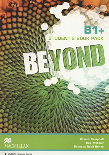 9780230461420: Beyond B1+ Student Book pack