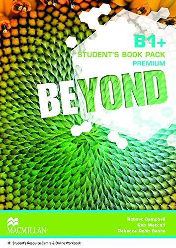 9780230461437: Beyond B1+ Student Book pack Premium