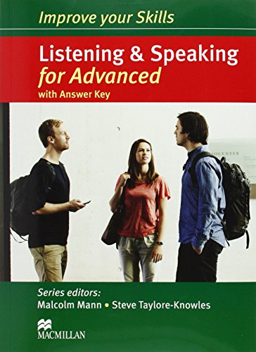 9780230462830: Improve Your Skills: Listening & Speaking for Advanced Student's Book with Key Pack