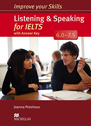 9780230463417: Improve Your Skills: Listening & Speaking for IELTS 6.0-7.5 Student's Book with Key Pack