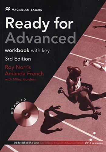 9780230463608: Ready for advanced. Workbook. With key. Con e-book. Con espansione online. Con CD Audio. Per le Scuole superiori