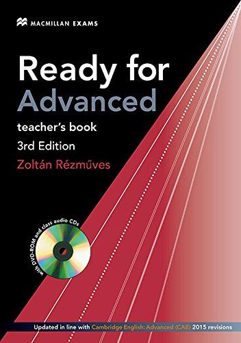 9780230463714: Ready for Advanced Teacher book 3rd edition (2015 Exam)