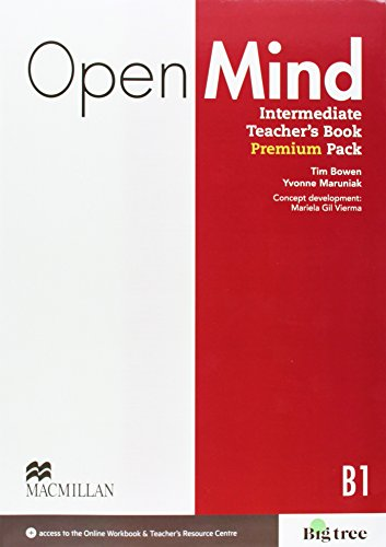 9780230469495: Open Mind Intermediate Teacher's Book Premium Pack with Class Audio, Workbook Audio, Video & Online Workbook