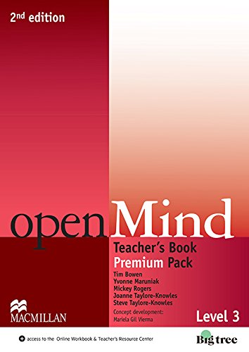 9780230469655: Open Mind 2nd Edition AE Level 3 Teacher's Edition Premium Pack