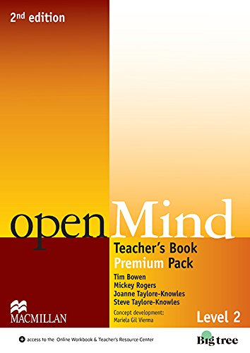 9780230470330: Open Mind 2nd Edition AE Level 2 Teacher's Edition Premium Pack