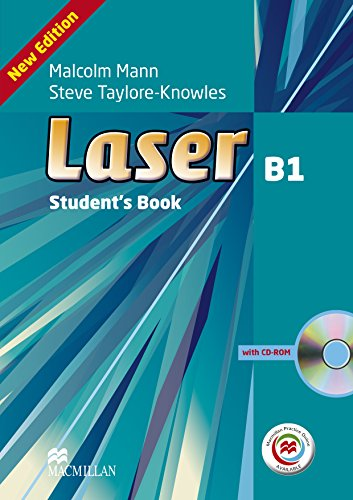 9780230470675: Laser 3rd Edition B1 Student's Book & CD-ROM with MPO